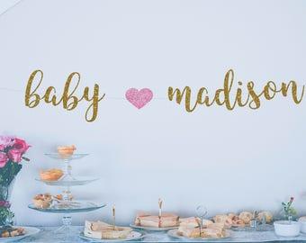Baby Shower Banner Etsy