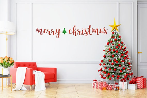 Merry Christmas Banner Christmas Banner Gold Christmas Etsy Choose from 5 holiday designs or get all for more holiday cheer! merry christmas banner christmas banner gold christmas banner red christmas glitter banner holiday banner merry christmas