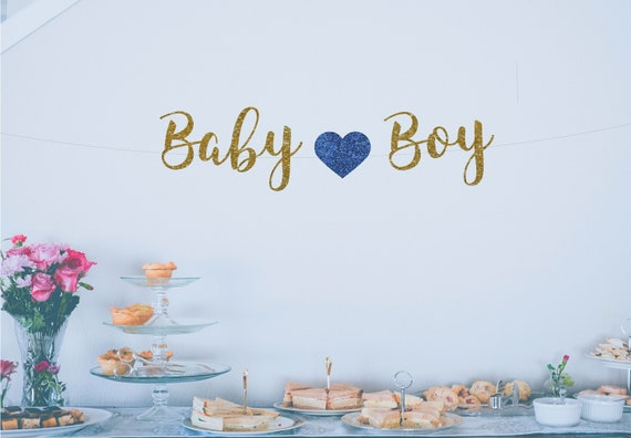 boy baby shower banners it s a boy banner baby boy etsy