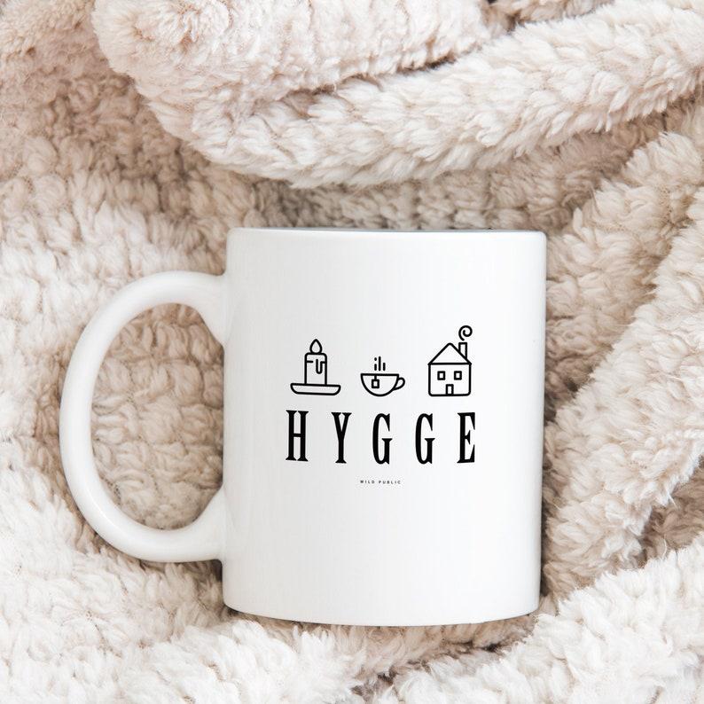 Hygge Ceramic Coffee Mug Coffee or Tea Cup in 11oz and 15oz image 0