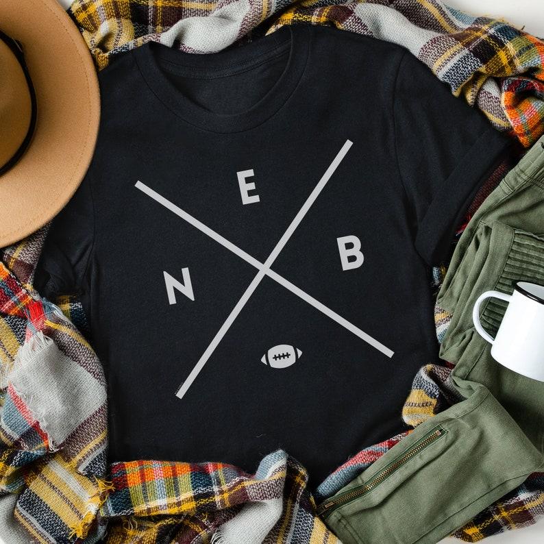 Nebraska Shirt Organic Cotton Eco Friendly Graphic T-Shirt image 0