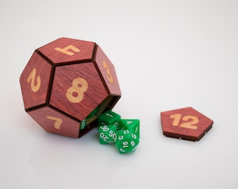 D12 Dice Box and Shaker