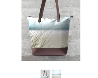 Sand and Waves Satement Bag
