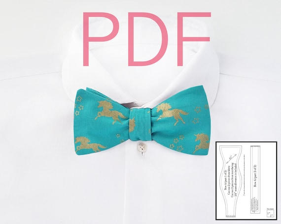 It's just an image of Printable Bow Tie Pattern inside father's day