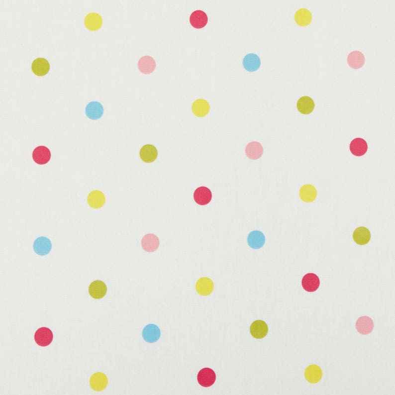 YELLOW LARGE DOT WIPE EASY PVC TABLECLOTH MANY SIZES PINK BLUE FREE P/&P GREEN