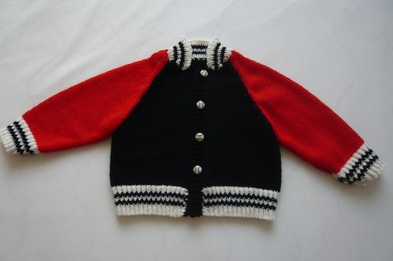 wähle spätestens Bestbewertet authentisch New York Baby College Jacke Gr. 68/74