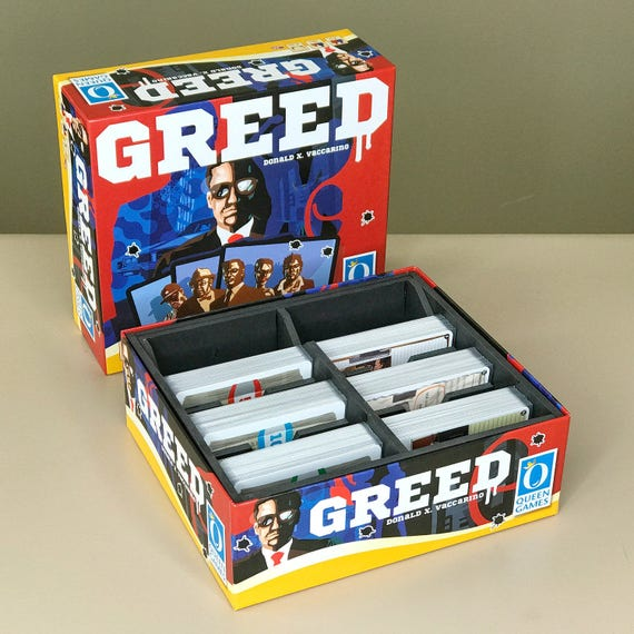 Greed Card Game DIY Insert Plans
