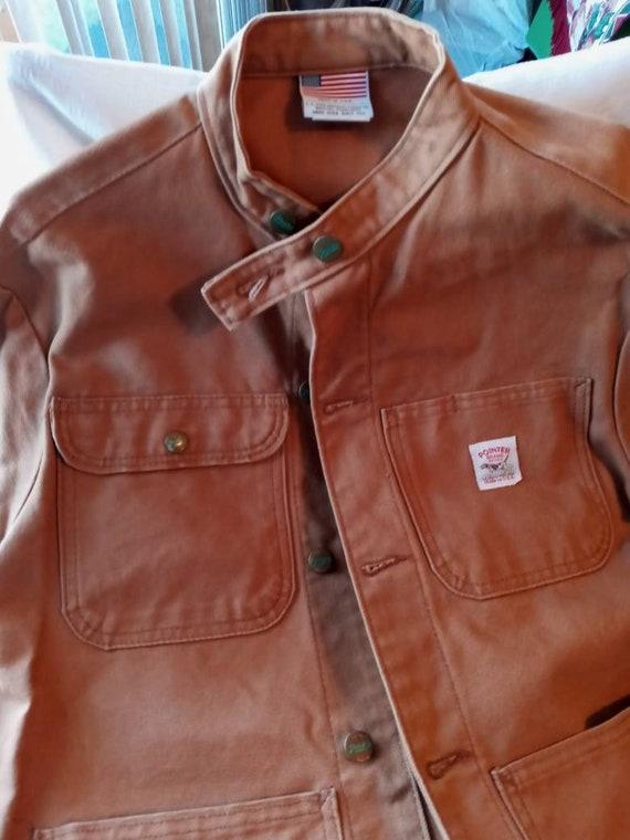 Pointer Brand Jacket- LC King - Camel Tan Canvas J