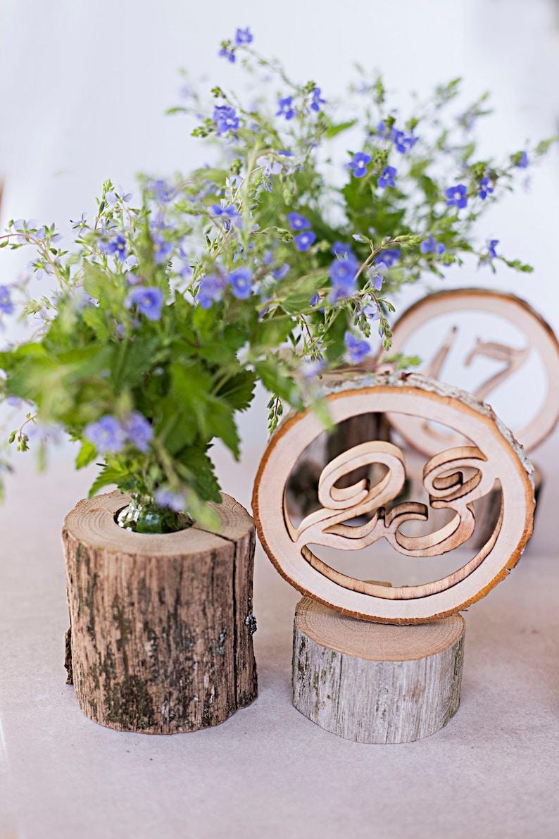 Holz Tischnummern