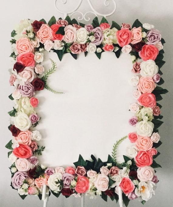 Flower Frame Moncheriblooms