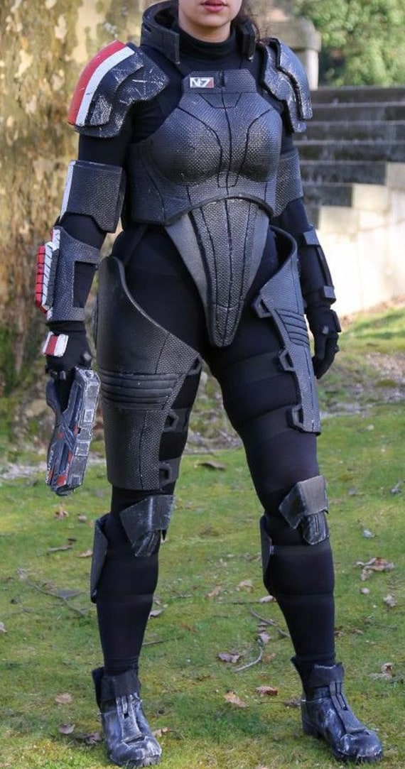 Mass Effect 2 Commander Shepard N7 Armor Female Version Only Made To Order Costume Cosplay Armor