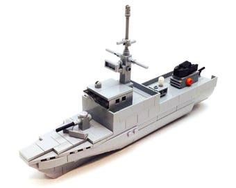 Fearless-Class Patrol Vessel - Microscale Building Kit 201