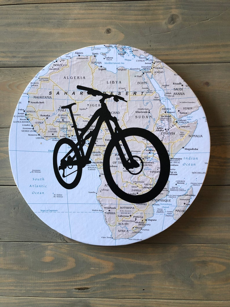 Custom Bicycle Wall Art Gift Present Fathers Day Gift