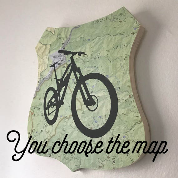 Mountain Bike Plaque