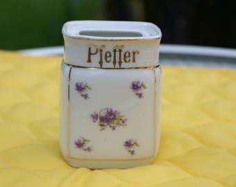 Vintage German Pepper Shaker