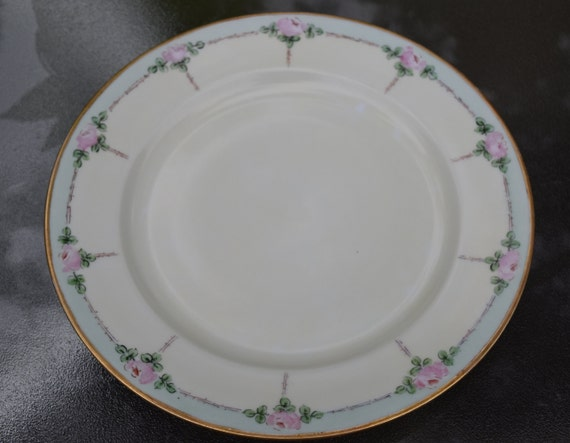 3 Beautiful Rare Royal Bayreuth Bavaria 10 Inch Plates Etsy
