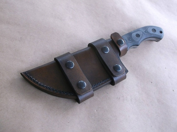 Tom Brown Tracker T1 Scout Carry Handmade Leather Sheath Etsy