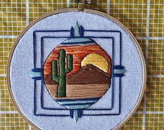 Desert Sunset Hoop