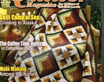 The Quilter Magazine for Quilters of All Skill Levels November 2004 100th Issue