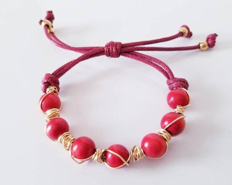 Handmade Jewelry Adjustable Bracelet Bracelet friendship Red Bracelet Bracelet for women