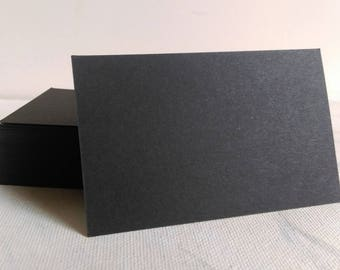 Kraft business cards kraft cardstock blank kraft cards etsy black business cards black cardstock blank black cards flash cards name cards message cards memos thank you cards place cards m4hsunfo