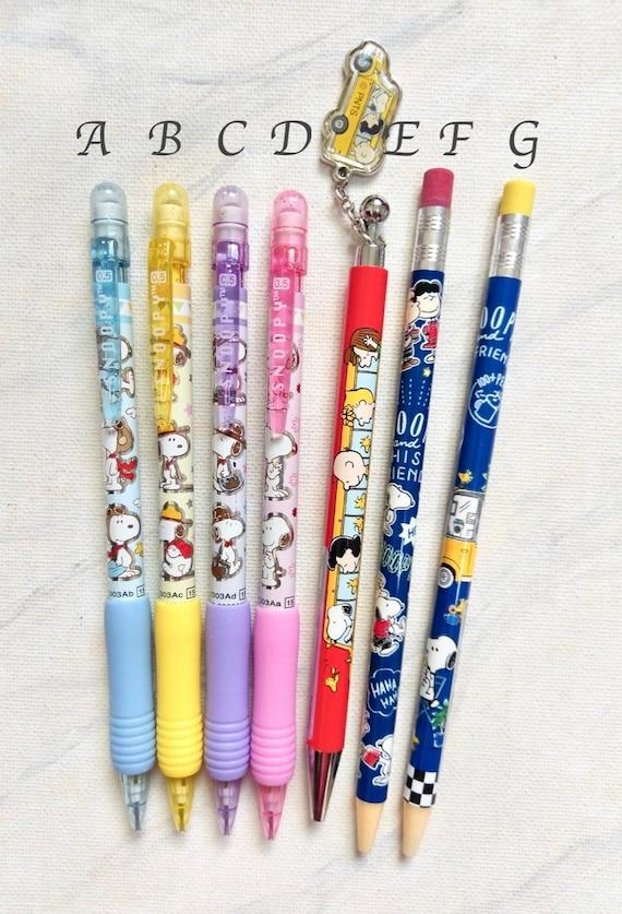 Only 3 left Snoopy Peanuts Ener Gel Ink Ballpoint Pen made in Japan Kawai Goods