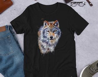 Spirit Wolf Short-Sleeve Unisex T-Shirt