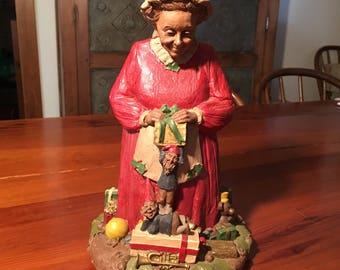 Tom Clark Mrs. Claus II Gnome Figurine #5010 - 1987-#44 Resin