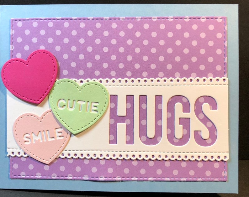 hello hello card thinking of you hugs image 0