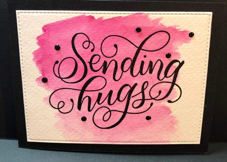 Friend Card Friendship Card Thinking of you encouragement image 0
