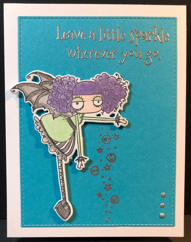 hello hello card thinking of you leave a little sparkle image 0