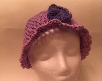 Girl's Crochet Hat