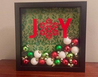 Christmas Shoebox Diorama.Christmas Shadow Box Etsy