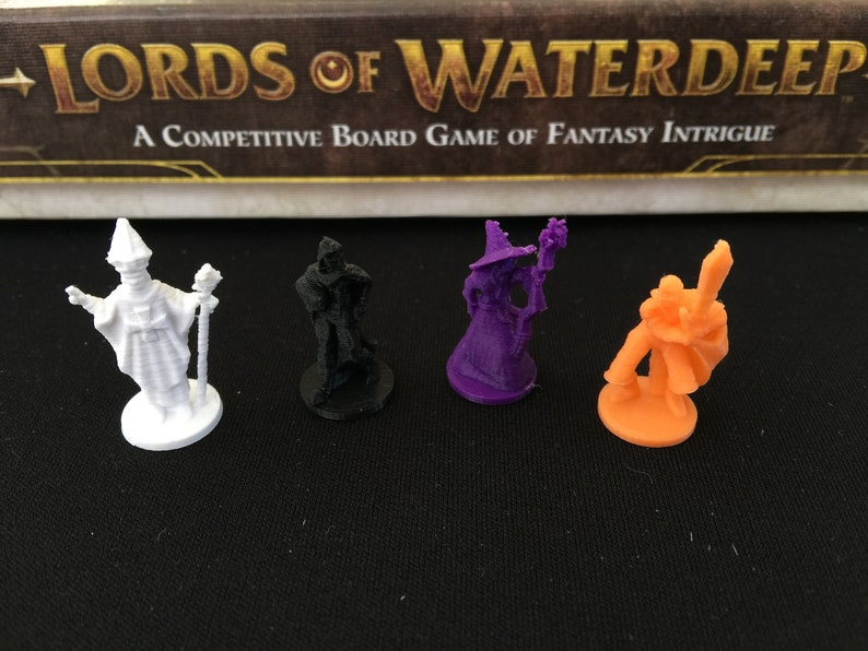 Lords of Waterdeep Adventurer Tokens 120 pieces image 0