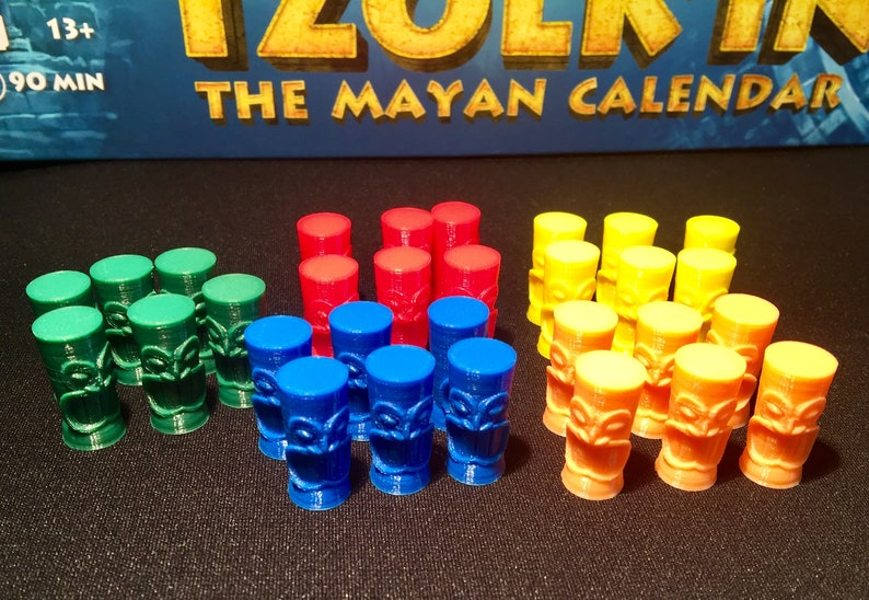 Tzolk'in Worker Tokens optional 5th player image 0