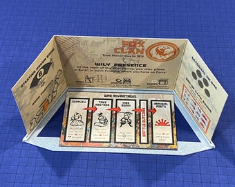 Rising Sun Player Trays (set of 7)
