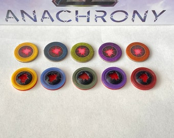 Anachrony Glitch Tokens (set of 40)