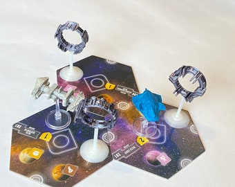 Warp Portals for Eclipse: Second Dawn for the Galaxy (set of 3)