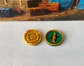 Tokens for Lost Ruins of Arnak (set of 54)