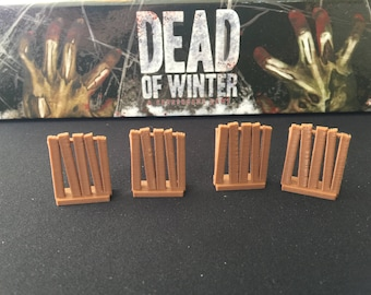 Dead of Winter Zombie Barricade Tokens (pkg of 20)
