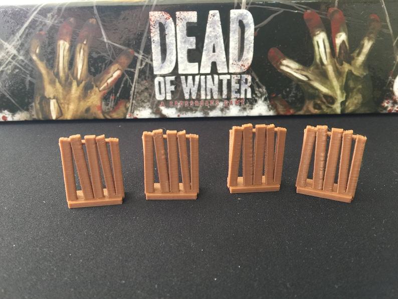Dead of Winter Zombie Barricade Tokens pkg of 20 image 0