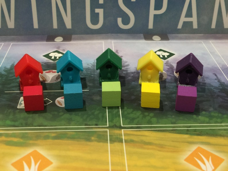 40 tokens Wingspan Player Tokens