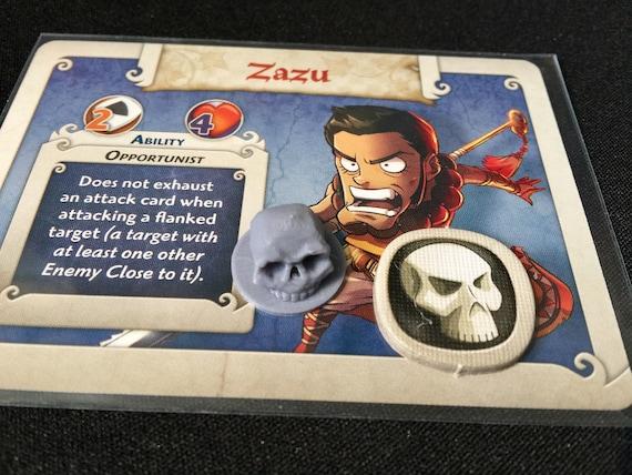Arcadia Quest mort jetons (paquet 24)
