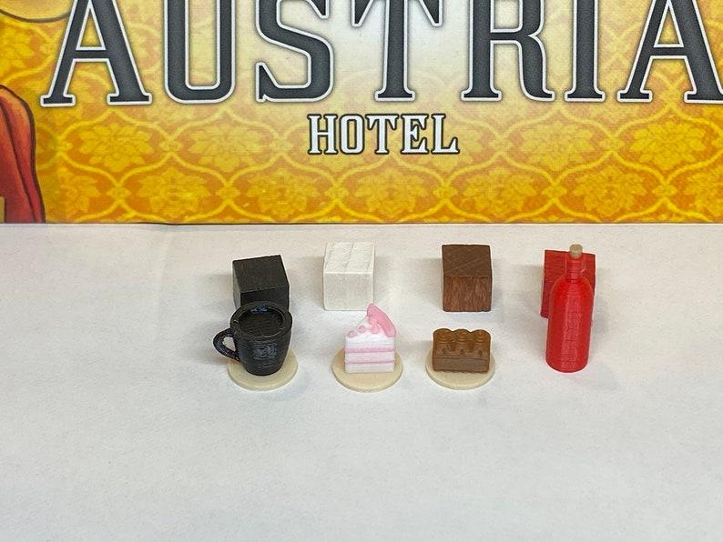 Grand Austria Hotel Food Tokens set of 120 image 0