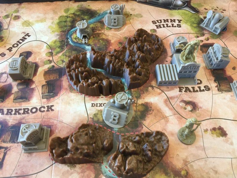 Western Legends Board Game Terrain image 0