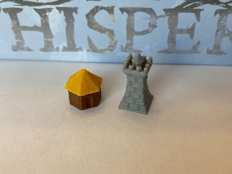 A War of Whispers Building Tokens set of 26 image 0