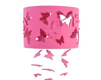 Lamp Kinderkamer Paars : Lamp vlinder voor kinderkamer etsy