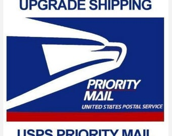 Upgrade Shipping Priority Mail.