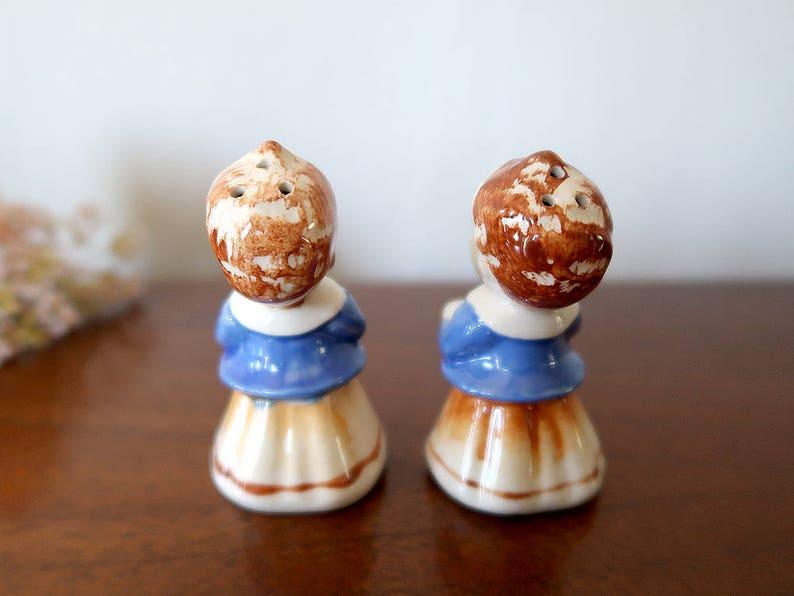 Vintage Choir boy salt and pepper shakers Made in Japan