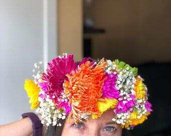 30c92a16e8 More colours. Flower Crowns (Haku Lei)